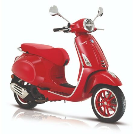 "Vespa Primavera I-get ""THE RED"" EURO-5"
